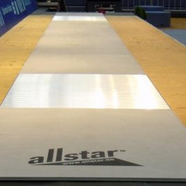 Pista All star FIE de Bloque alumnio