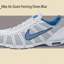 Tenis NIKE AIR ZOOM WHITE/LIGHT BLUE OBSIDIAN