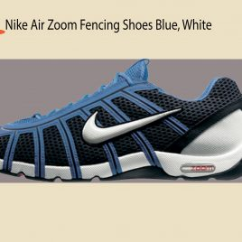 Tenis NIKE AIR NIKE AIR ZOOM FENCING SHOES OBSIDIAN/WHITE-LT PHOTO BLU