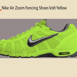 Tenis NIKE AIR NIKE AIR ZOOM FENCING SHOES VOLT/SEQUOIAFENCING SHOES sobre pedido