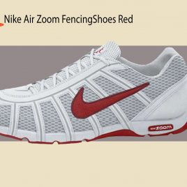 Tenis NIKE AIR ZOOM FENCING SHOES WHITE/SPORT RED-LT GRAPHITE sobre pedido